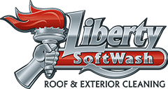 Liberty Softwash Roof & Exterior Professional Cleaning Service with the Power Wash Store of Red Lion Pennsylvania